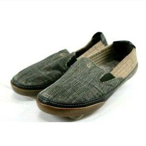 Olukai Lani Men's Casual Loafers Shoes Sz 10 Green